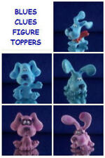 NEW NICKELODEON BLUES CLUES MINI FIGURE CAKE TOPPER DECORATION YOU PICK ONE