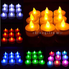 LED Flickering Flameless Tea Light Candle Multi-choice Colors Packing Quantity