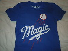 DODGERS MAGIC T SHIRT  BY WORK - WOMENS - OBEY - FOREVER 21 - MATIX - ROXY-