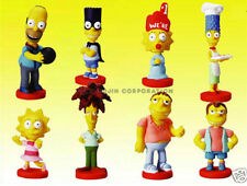 8 NEW SIMPSONS SERIES 4 MINI FIGURE BOBBLEHEAD CUP CAKE TOPPERS YOU PICK ONE