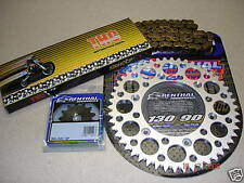 THC Chain And Silver Renthal Sprocket Kit YZ YZF WRF WR 125/250/400/426/450