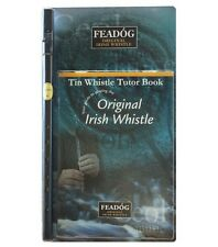 "Feadóg Double Pack (Colour/Nickel ""D"") - Whistle and Book"