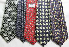 MENS NEW TIES HAND MADE 100% POL .PRICE FOR   5 TIES -T 049