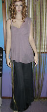 NEW! FREE PEOPLE FAIRUZAS Draped ONE SHOULDER BEADED Jersey TUNIC Top XS S L $98