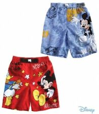 New Boys Disney Mickey Mouse Swimming Shorts Trunks Age 2-8 Years