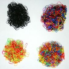 1000pcs Ponytail Elastic Hair Rubber hair band wholesale girl baby dog doll mix