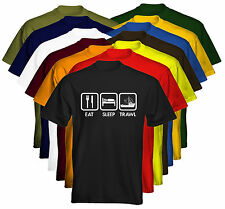 Eat Sleep Mens T-Shirt Eat Sleep Trawl Trawler Fishing Boat Size & Colour Option