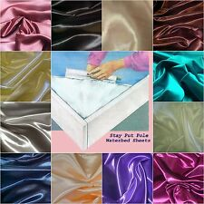 Waterbed Sheet set - Premium Bridal Satin 300 Thread Count - High Grade Quality