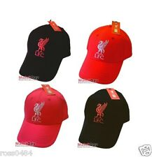 Liverpool FC Official Cap Black Red Gift