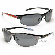 Mens Well Built Sport Sunglasses Plastic & Metal Frame 3 Various Colors NE2832M