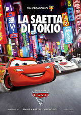 CARS 2 - Movie Film Printed Poster Manifesto Locandina Nuovo New Cartoon Funny