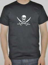 Pirate Flag Design Mens T-Shirt - Various Sizes and Colours
