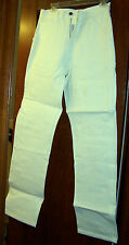 Caboose Men's PAINTER PANTS - WHITE w/Tool Loop & Extra Pockets - NWT!