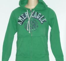 American Eagle Outfitters Mens Green NY Graphic Hoodie Sweatshirt Jacket New NWT