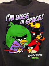 Angry Birds I'm Huge In Space Mens TShirt Space App Birds NWT Free Shipping