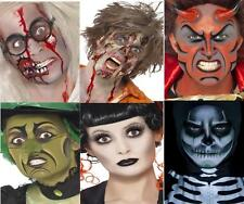Halloween Make Up Kits Cosmetics Face Paint Sets Zombie, Vampire, Witch, Gothic