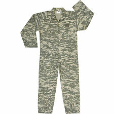 Army Digital Camouflage ACU Mechanics Coveralls Flightsuit