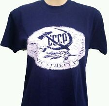 MANIC STREET PREACHERS CCCP MENS NAVY MUSIC T SHIRT