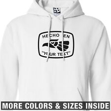 Custom Hecho en Your Text HOODIE Personalized Sweatshirt - All Sizes & Colors
