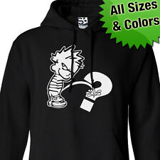 Custom Piss On HOODIE Personalized Calvin Pee Peeing Sweatshirt All Sizes Colors