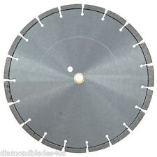"14"" Diamond Saw Blade Concrete Brick Block Stone Slate Rock Masonry 10mm CUTTING"