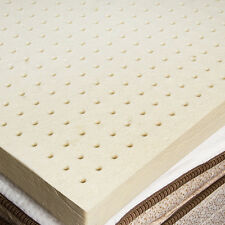 "100% Natural Latex Mattress Topper  2"" - Queen size"