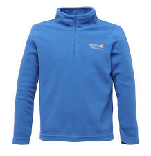 Regatta Hotshot Kids Fleece 3 - 16 yrs Girls & Boys School Zip Top Jumper