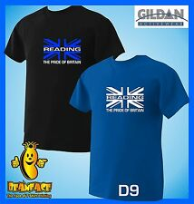 READING union jack pride   football sportng fc funny  T SHIRT small to 5XL D9