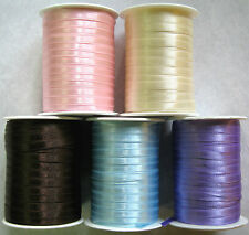 10Mtrs Double Satin Ribbon 6mm Wide