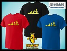 EVOLUTION LEGO funny  T SHIRT small to 3XL
