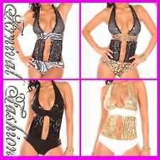 NEW HOT LADIES FASHION SWIMWEAR sequin MONOKINI SWIMSUIT WOMENS BEACHWEAR ONLINE