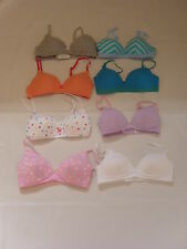 EX M&S ANGEL TEEN BRAS  CHEST SIZE FROM 28 TO 36  CUP A,AA,B,C GIRTS ,BIRTHDAYS