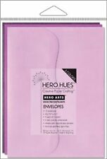 Hero Arts Mixed Envelopes Pool, Sea, Sunshine, Earth, Blush, Foilage Floral A2