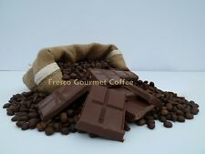 Chocolate Flavour Decaffeinated Coffee Beans 100% Arabica Bean NEW Sized Bags
