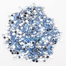 New 2000pcs Crystal Flatback Acrylic Rhinestones Beads Nail Art/Craft 2mm