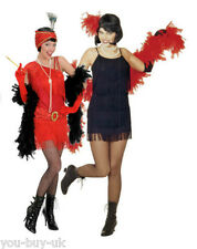 Deluxe Flapper Costume Charleston 1920s New Years Eve Dancer Girl Fancy Dress