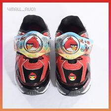 Kids Boys Angry Birds Light Up Athletic Sneaker Jogger Pumps Shoes Size 6~11