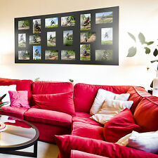 Large collage gallery multi aperture photo frame by Pinnacle, 18 or 11 photos.