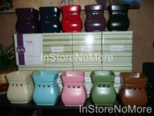 1 Scentsy FULL SIZE Warmer CLASSIC Satin Solids DISCONTINUED Retired RARE