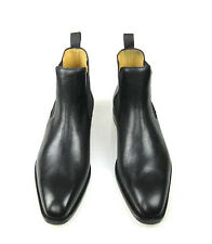 BERWICK 1707- CIEZA - High Quality Black Leather Chelsea Boot - SBSBERW00014