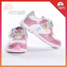 Kids Girls Dora Light Up Sneakers Pumps Canvas Footwear Shoes Sz 6,7,8,9,10,11