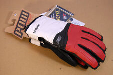Pow Stealth Glove GTX - Red Gore-Tex Ski/Snowboard Winter Leather Gloves NEW!