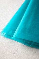5m 55'' Sheer Organza Fabric Wedding Bridal Banquet DIY Table Decor,29 Colors