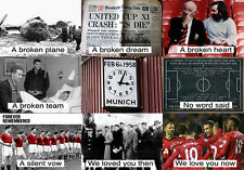 Manchester United's Busby Babes Munich Air Disaster Tribute T-shirt - All sizes