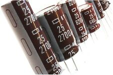 25V 105C KY Series Nippon Chemi-Con Low ESR (Long Life) Electrolytic Capacitors