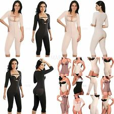 Full Body Shaper, Post Partum With Sleeves, Stage 1 Post-Surgical, Powernet