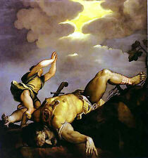 Photo/Poster - David And Goliath S - Titian 1495 1576