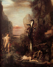 Photo/Poster - Hercules And The Hydra - Moreau Gustave 1826 1898