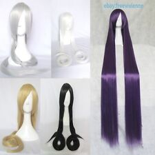 150cm Long Hair Straight Cosplay Wig 5 Color Free Shipping+Free Wig Cap
