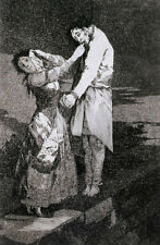 Art Print - Out Hunting For Teeth! - Goya Francisco De 1746 1828